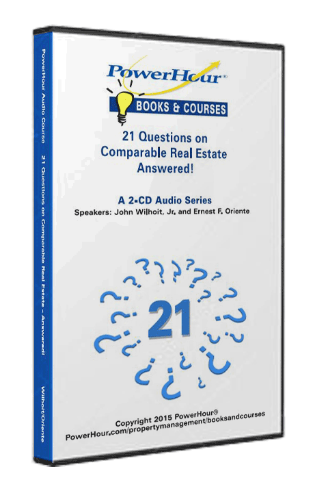 21 Questions on Comparable Real Estate - Answered! - 2-CD Set