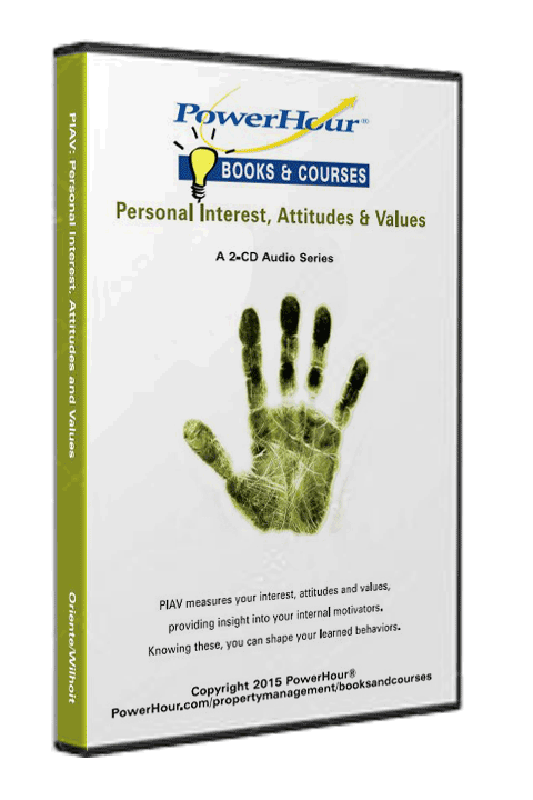 PowerHour Personal Interest, Attitudes and Values - 2-CD Set