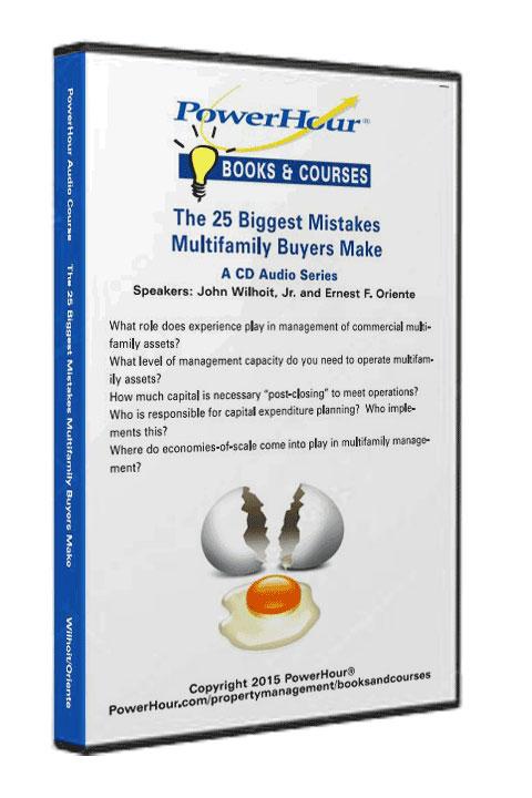 25 Biggest Mistakes Multifamily Buyers Make - 2-CD Set