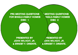 Pre-Meeting Questions for Single-Family Homes - Audio Files