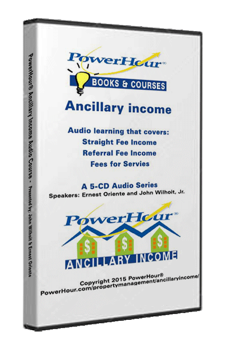 Ancillary Income - Listen Live