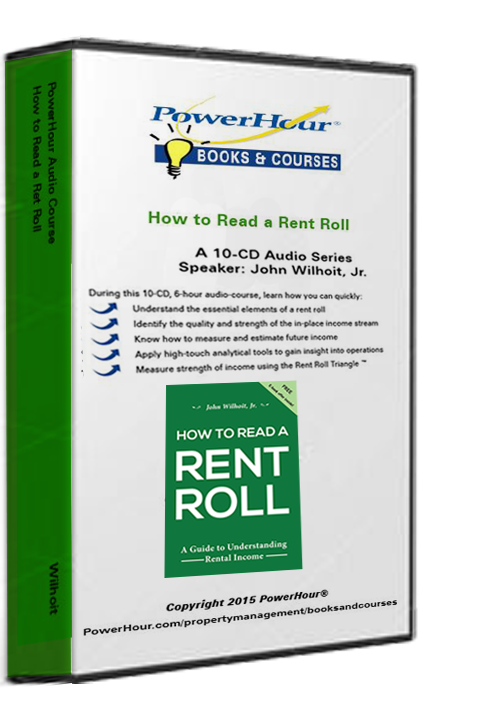 How To Read a Rent Roll - 10-CD Set