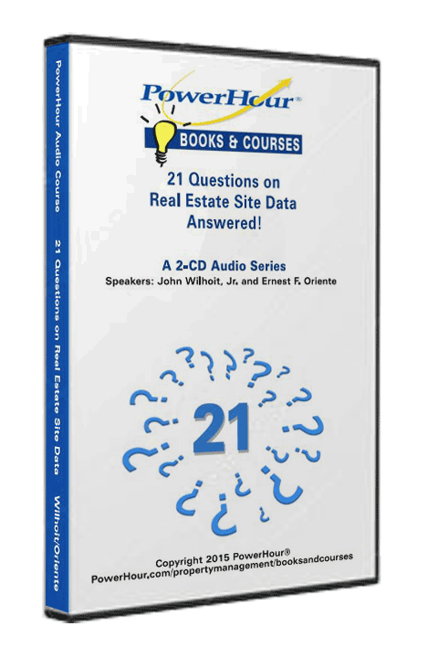 21 Questions on Real Estate Site Data - Answered! - Audio Files