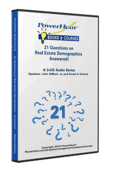21 Questions on Real Estate Demographics - Answered! - 2-CD Set